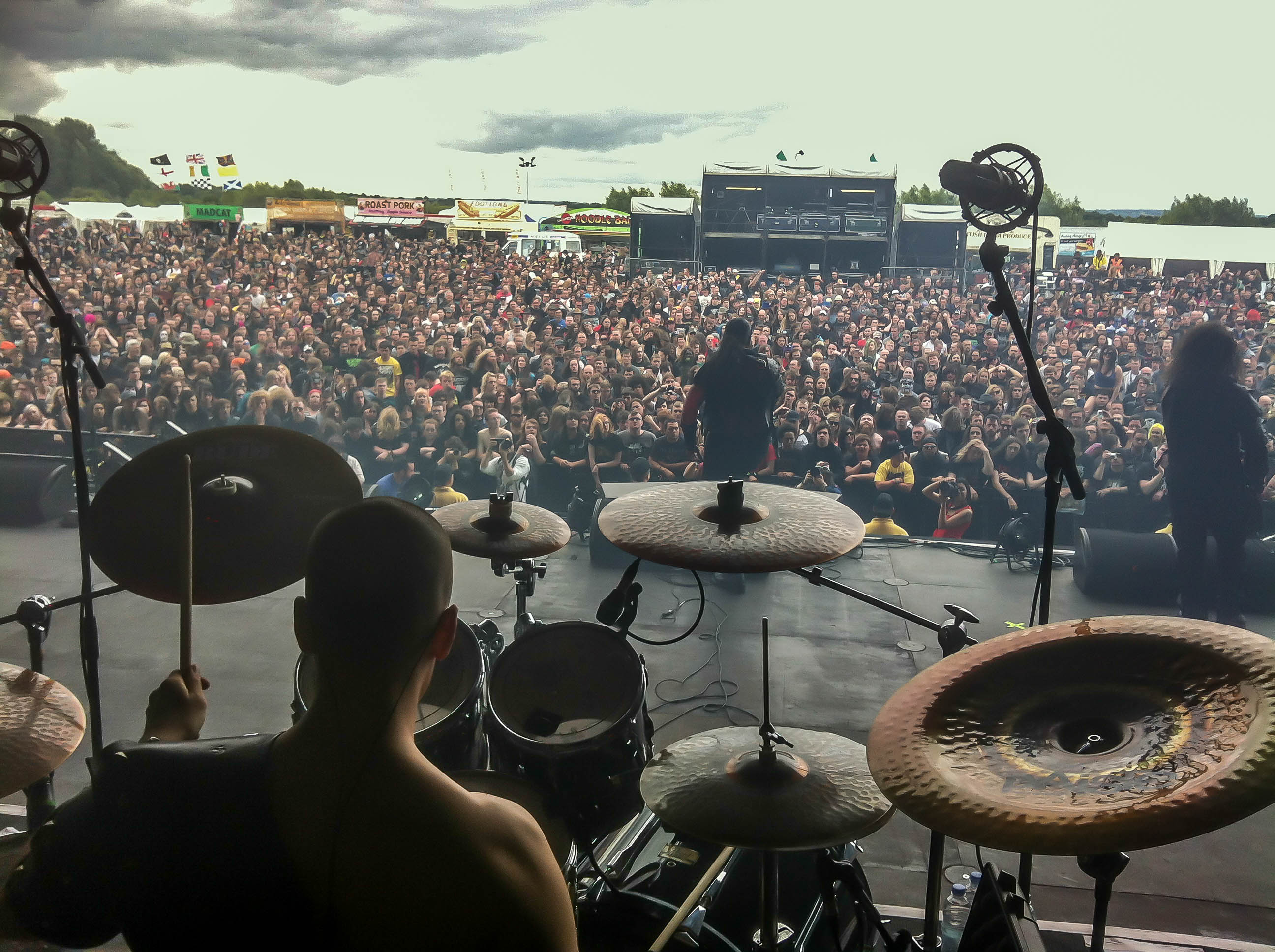 Oli Beaudoin (2013) with Ex Deo - Live at Bloodstock Open Air