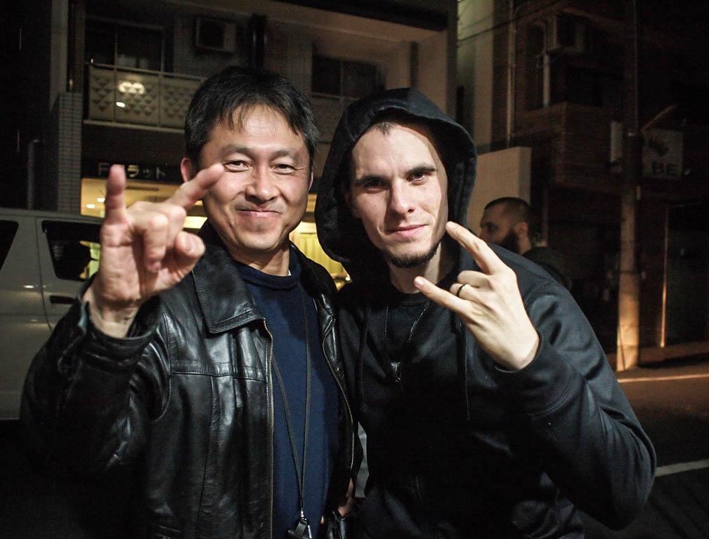 Oli Beaudoin (2013) - Meeting Nishi of Roland Corporation Japan