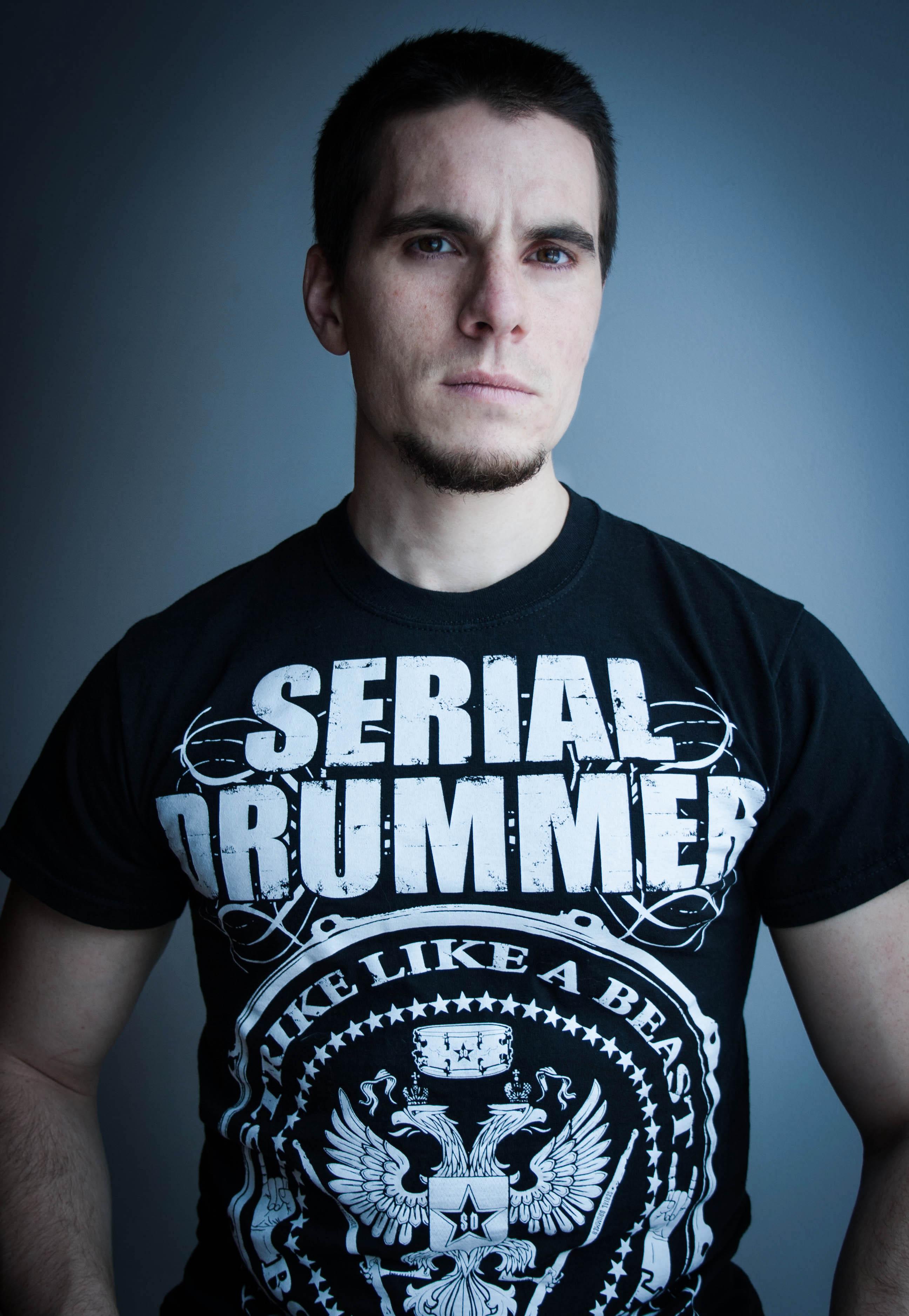 Oli Beaudoin (2014) - Serial Drummer Promo Shot
