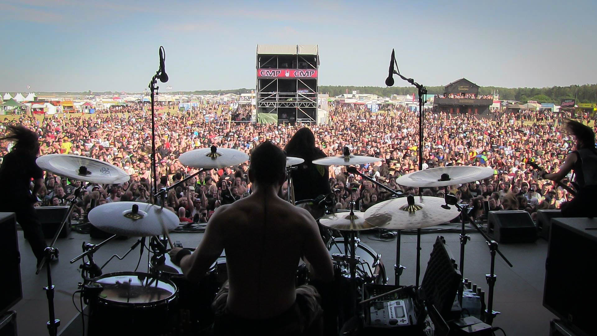 Oli Beaudoin (2014) with Kataklysm live at With Full Force Festival 4