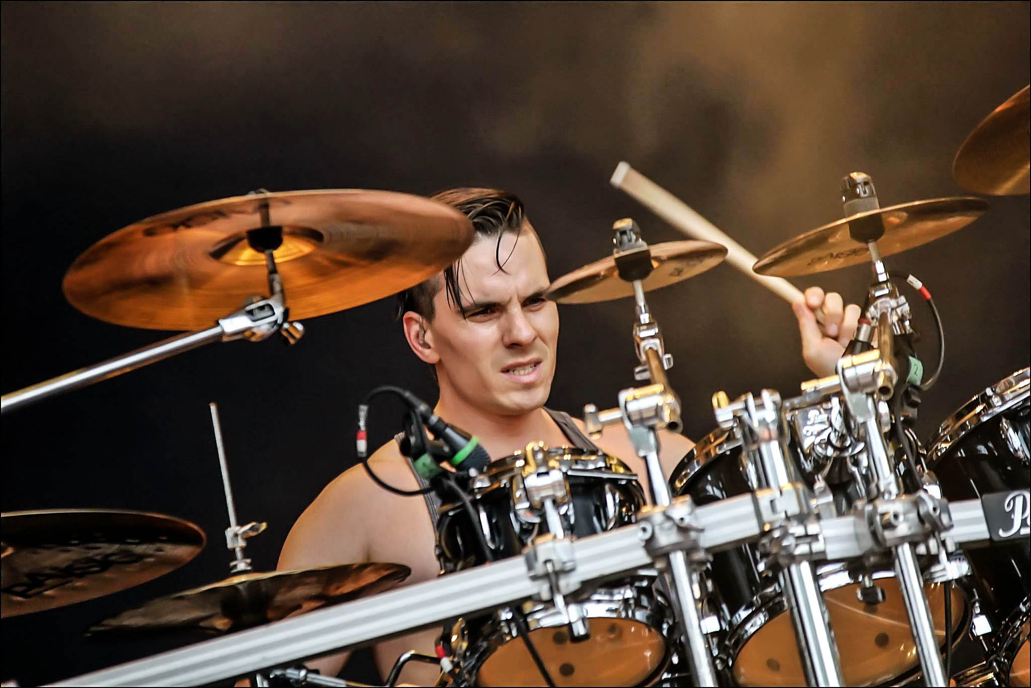 Oli Beaudoin (2016) - With Kataklysm at Out & Loud Festival