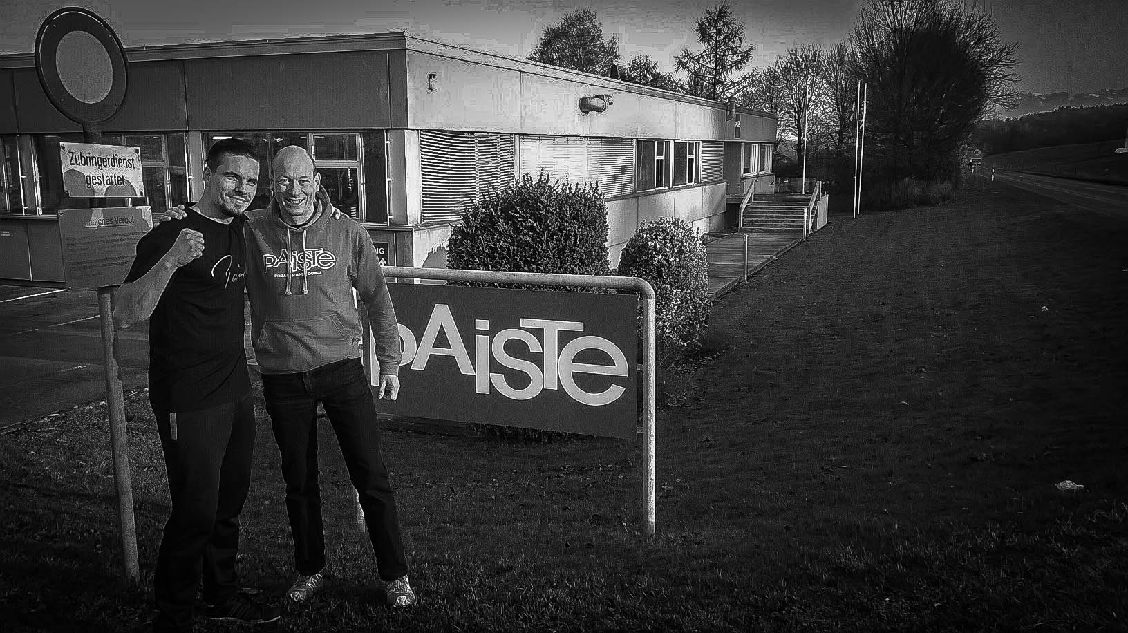 Oli Beaudoin (2016) - Paiste Factory Visit in Nottwil with Christian