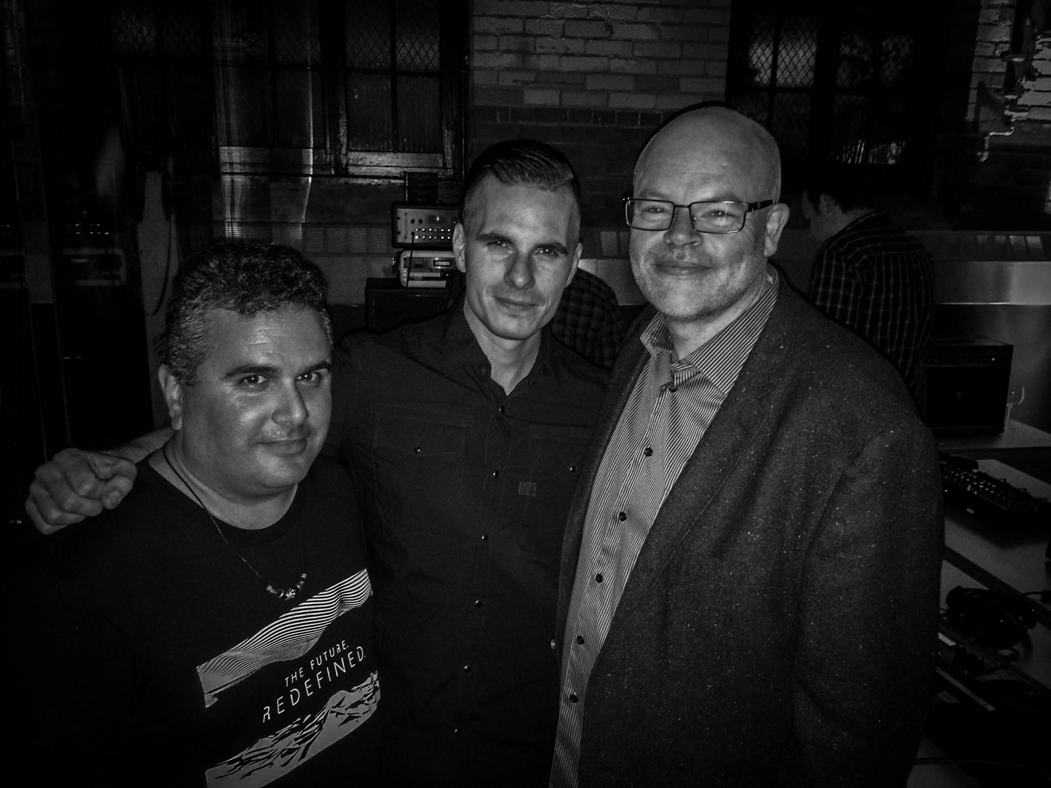 Oli Beaudoin (2016) - TFR Roland Event - with Mike and Paul of Roland Corporation