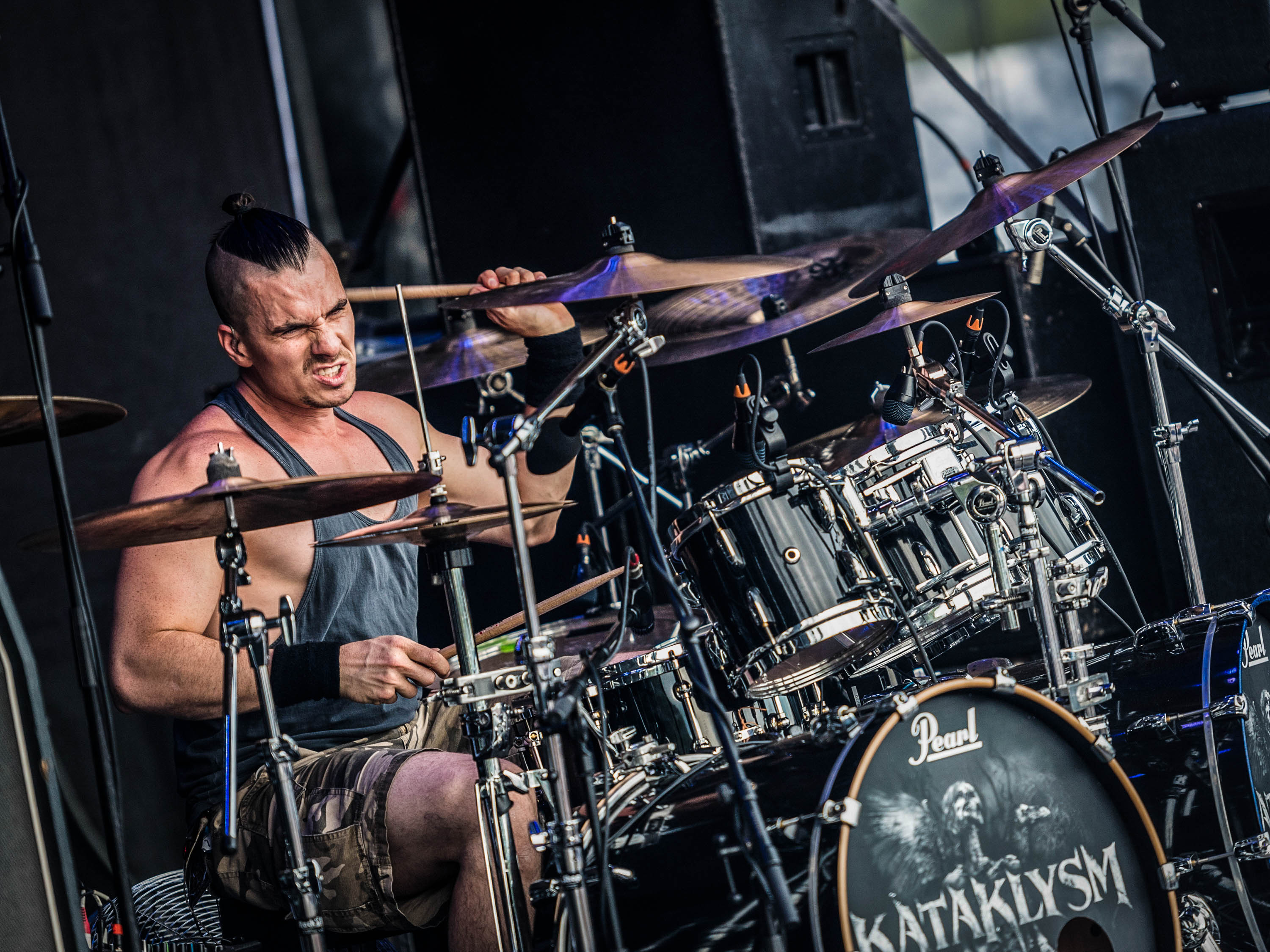 Oli Beaudoin (2017) - With Kataklysm at Bang Your Head Festival 2