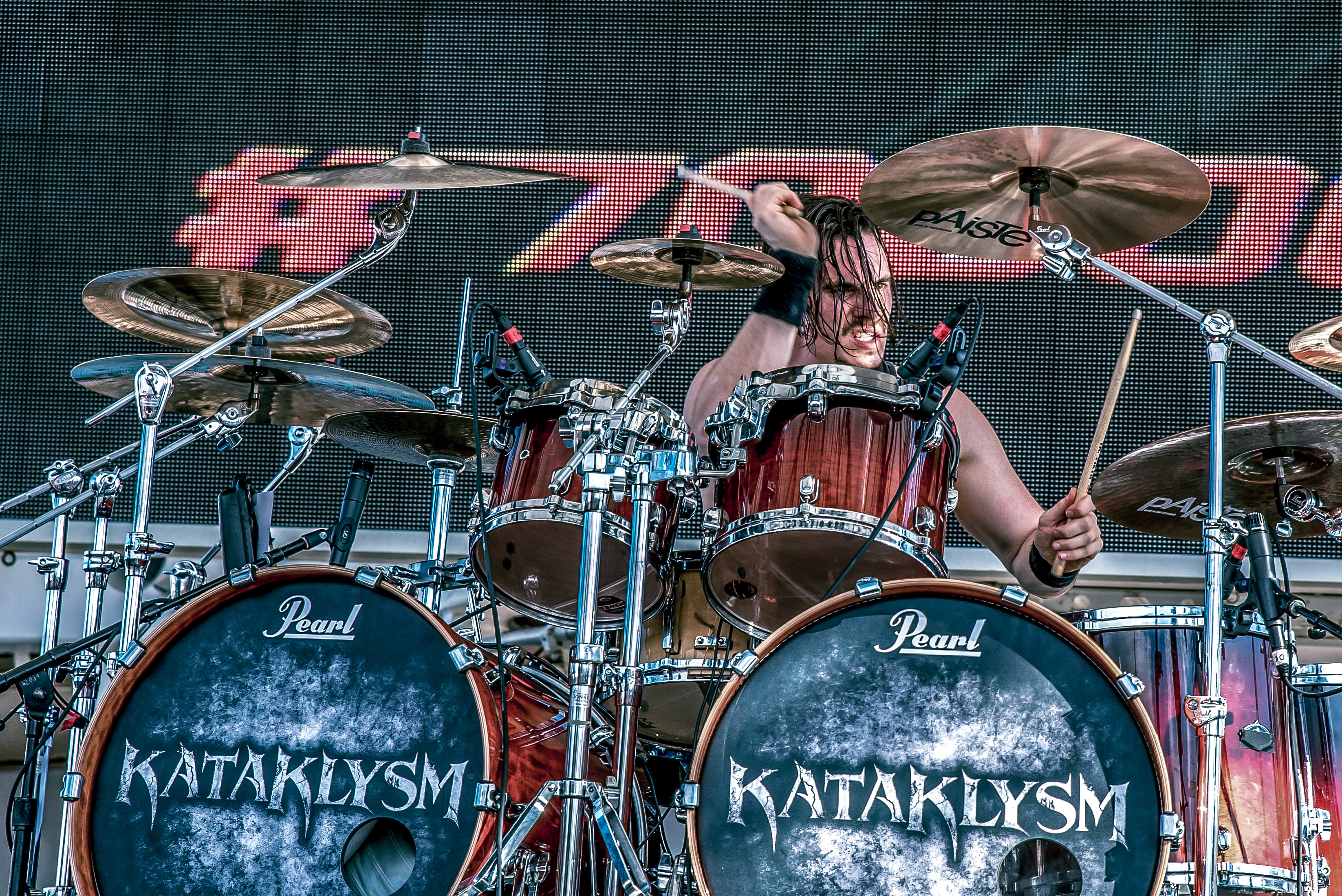 Oli Beaudoin (2018) - With Kataklysm on the 70000 Tons of Metal 2018