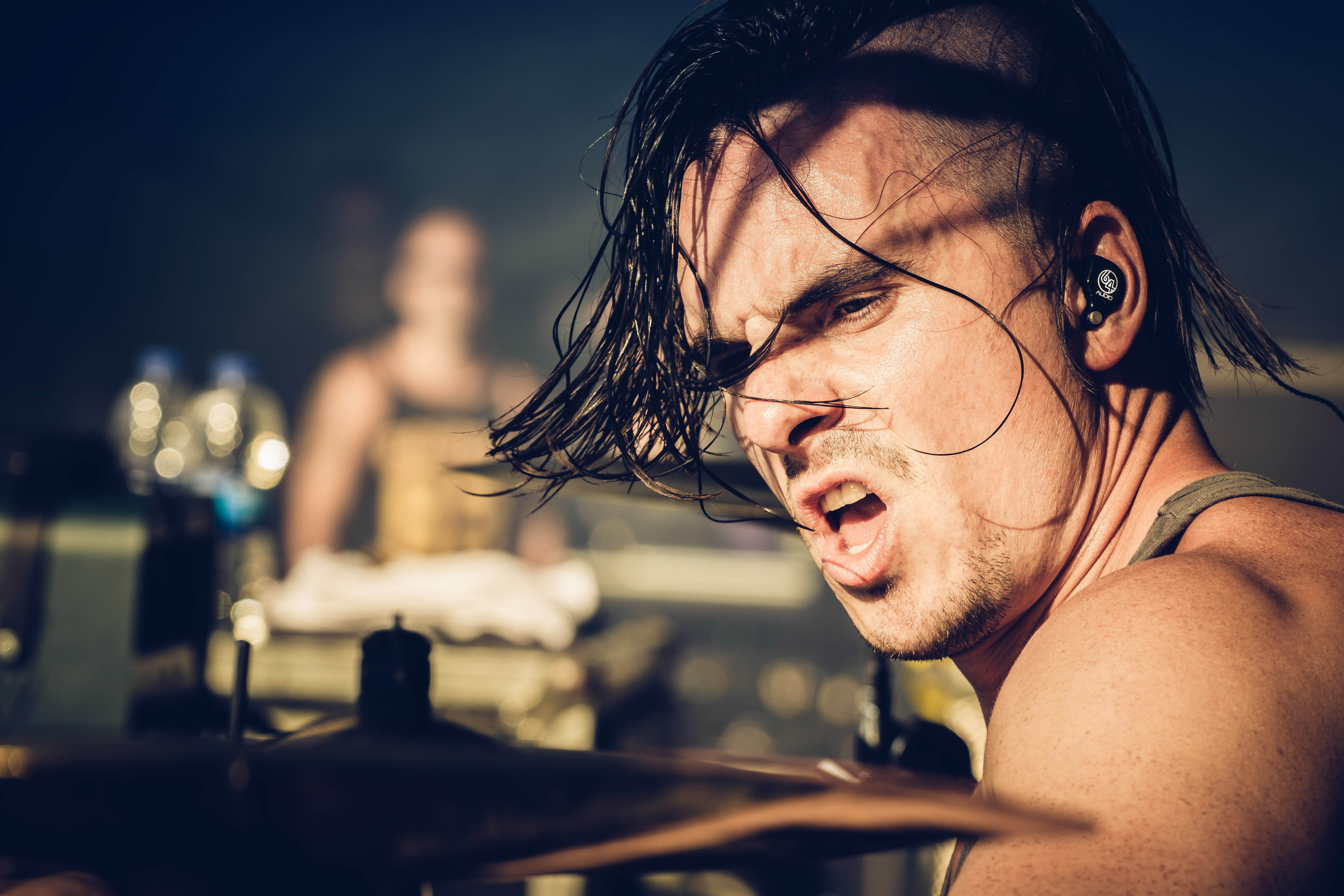 Oli Beaudoin (2018) - With Kataklysm - Live at With Full Force Festival