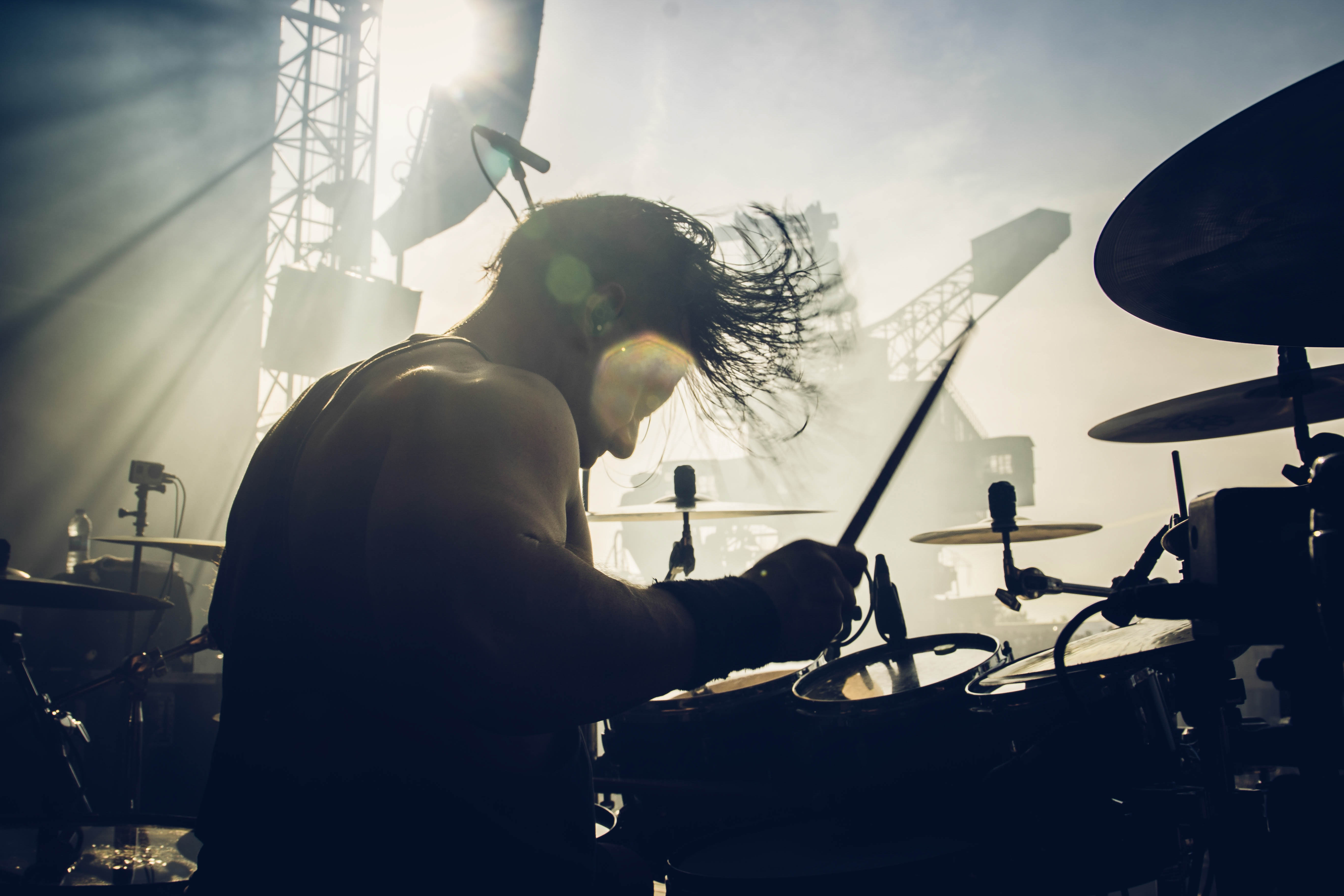 Oli Beaudoin (2018) - With Kataklysm - Live at With Full Force Festival 2